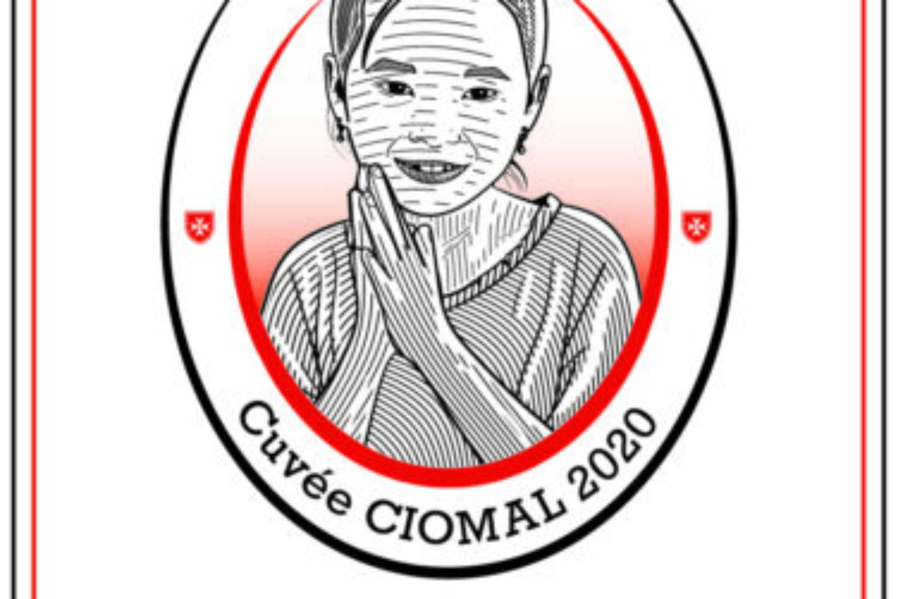 Etiquette Cuvée CIOMAL 2020