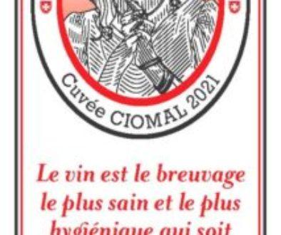 ÉtiquetteCuvée CIOMAL 2021 - Le bon vin ne guérit toujours pas la lèpre, mais...