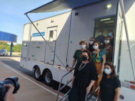 camion-atelier de cordonnerie CRIDAC - Campagne de recherche de fonds en faveur des personnes atteintes de la lèpre au Brésil - CIOMAL